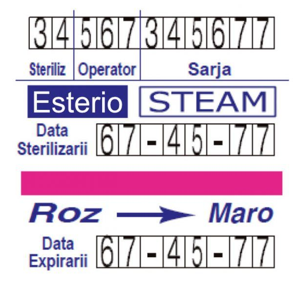 etichete dublu adezive abur esterio